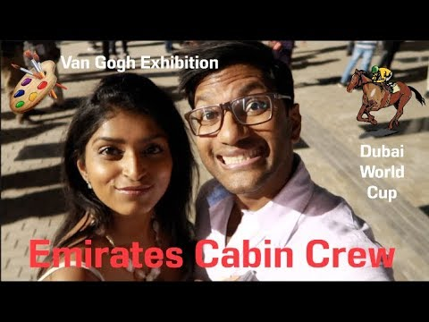 Emirates Cabin Crew: The Van Gogh Exhibition and The Dubai World Cup