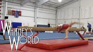 Balance Beam Wipeout   Level 3 Gymnastics   Whitney
