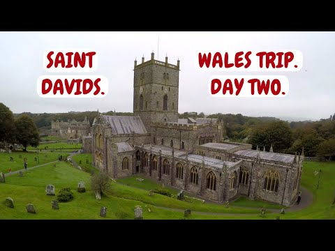 Wales campervan Trip. Day Two. A walk around Saint Davids City and Cathedral. Pembrokeshire.
