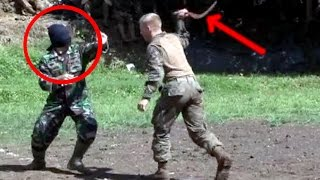 WALAU DENGAN MATA TERTUTUP, Marinir Indonesia tetap menang melawan Marinir Amerika - ATRAKSI #11