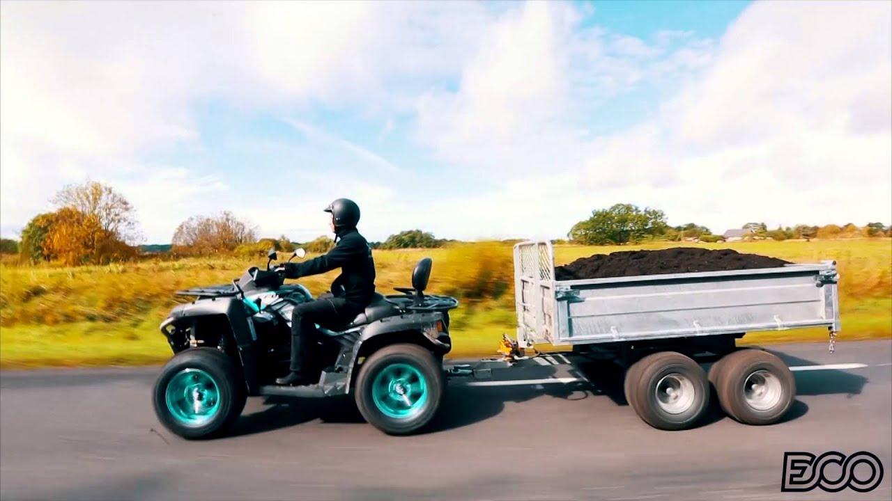 """Load Max Trailers >> ATV Trailer """"ECO 1500"""" ( ATV & UTV Accessories ) - YouTube"""