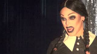 Video Morgan McMichaels is Wednesday Addams @ Showgirls! download MP3, 3GP, MP4, WEBM, AVI, FLV Maret 2018