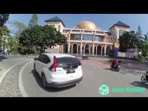 Jalan-Jalan Kawasan Kampus UII (Universitas Islam Indonesia)