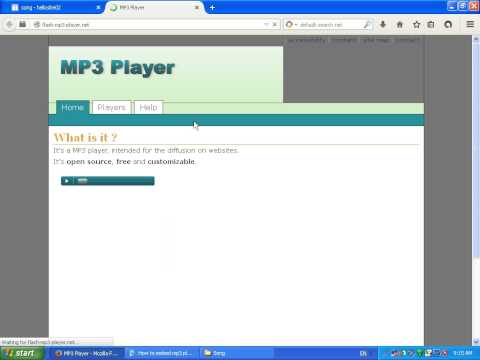 How to Embed MP3 Player to Blog