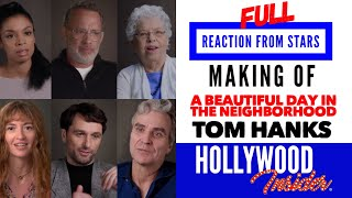 Full REACTIONS FROM STARS On A BEAUTIFUL DAY IN THE NEIGHBORHOOD | Tom Hanks, Matthew Rhys