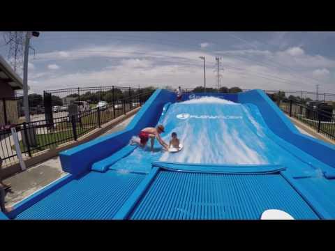 Surfs Up at Jack Carter Pool