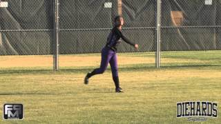 2014 Jasmine Chisley Outfield Skills Video