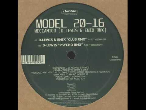 Model 20 16 -  Radar (Emix & D Lewis Remix)