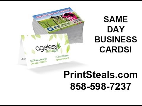 Same day business cards san diego youtube same day business cards san diego reheart Choice Image
