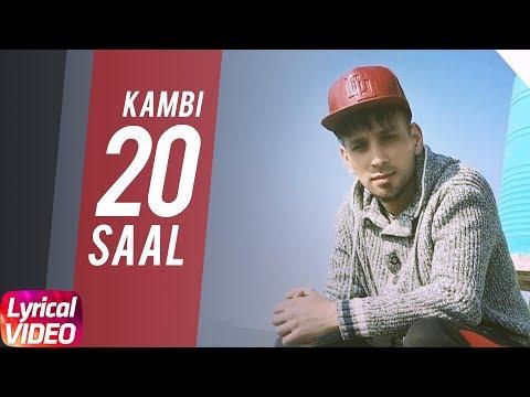 20 Saal (Lyrical) | Kambi | Sukh - E (Muzical Doctorz) | Latest Punjabi Song 2018 | Speed Records