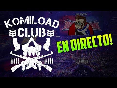 LIVESTREAM 🔴 WELCOME TO KOMILOAD CLUB - USTEDES ELIGEN LAS LUCHAS! - Komiload1 Feat Yulian1Up