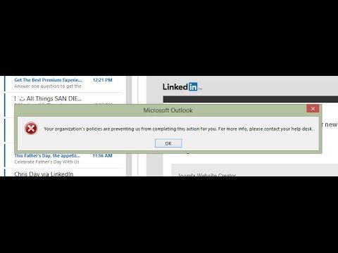 Microsoft Outlook 2013 Hyperlink Fix