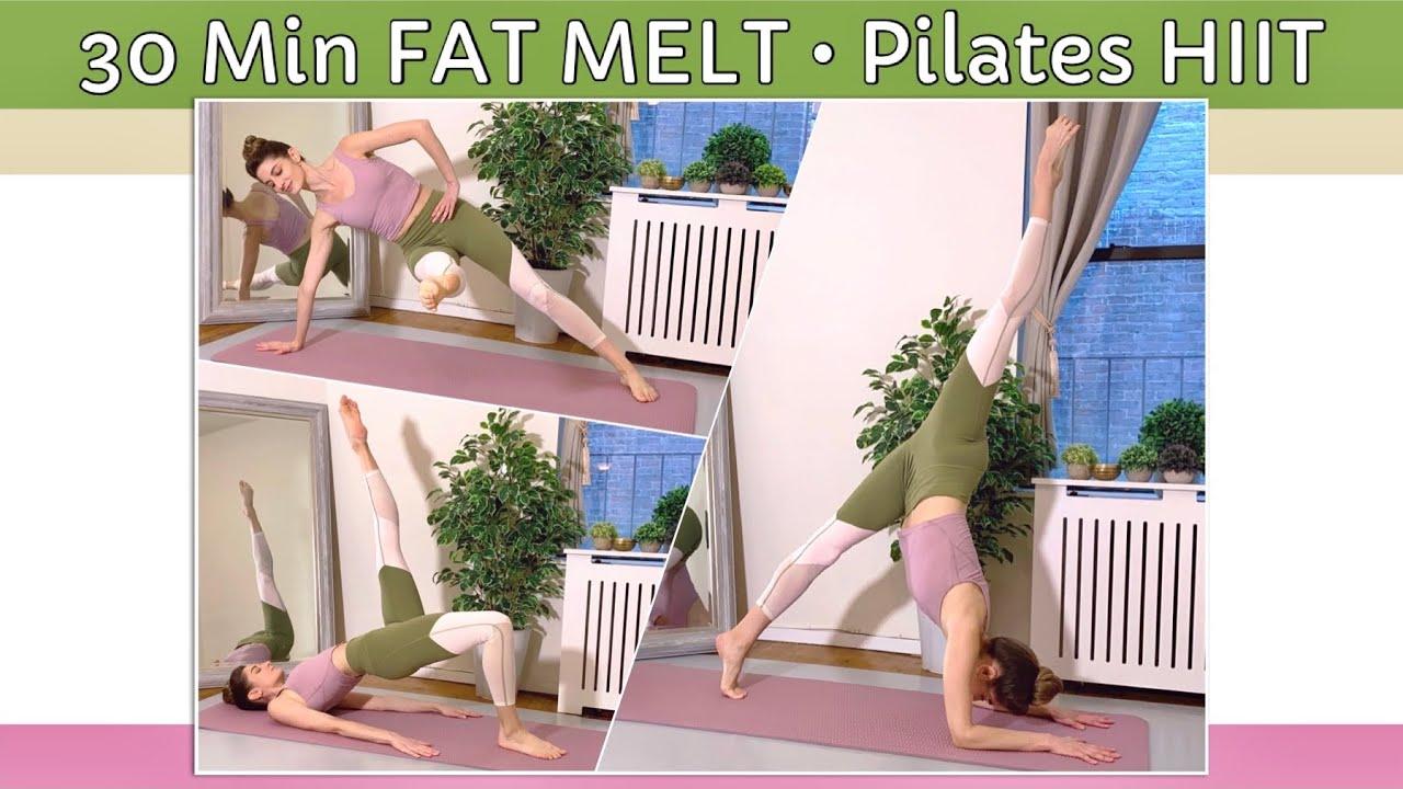 Download 30 MIN FAT MELT • FULL BODY PILATES HIIT | No Repeats! | Int/Adv Level