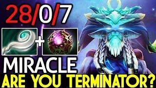 Miracle- [Leshrac] Are you Terminator? Cancer Gameplay 28 Kills 7.21 Dota 2