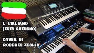 L' ITALIANO (TOTO CUTUGNO) - ROBERTO ZEOLLA ON YAMAHA GENOS