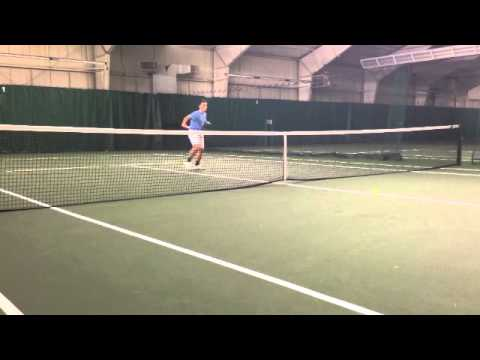 Michael Dorman Tennis Recruiting Video