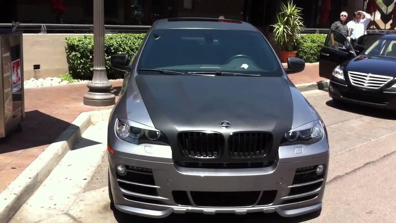 Hamann Bmw X6 In Tempe With Flat Black Paint Youtube