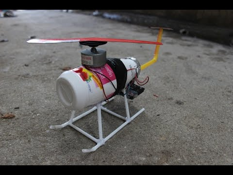 How to make a helicopter that propeller use paper