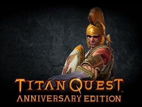 TITAN QUEST Anniversary Edition : Hunter 10 Minutes Gameplay |