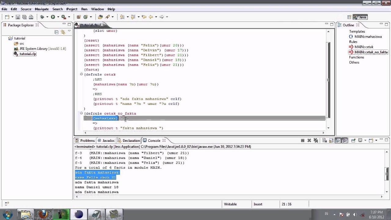 Jesstab tutorial henrik eriksson. Jesstab tutorial outline 1.