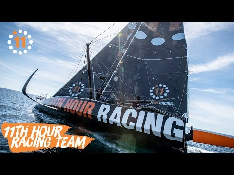 11th Hour Racing Team Sets Sail with Charlie Enright + Mark Towill