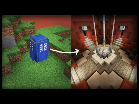 Minecraft: How to make a working Doctor Who Tardis