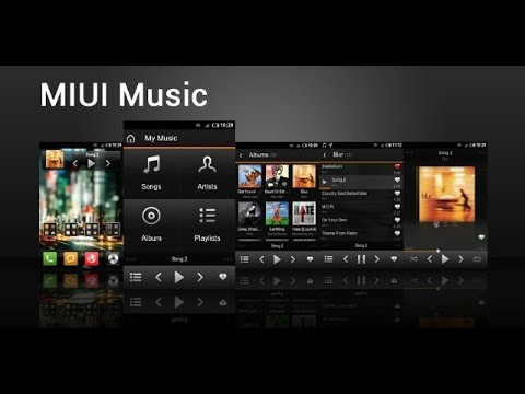MIUI music in any android smartphone without root