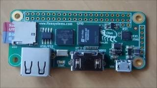 FleaFPGA Ohm board running Minimig