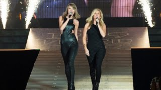 Taylor Swift & Ellie Goulding singing/cantando