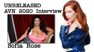 Raw and Never Before Seen AVN 2020 Interview with Sofia Rose