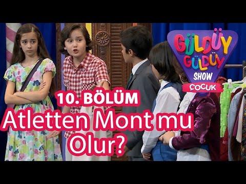 Güldüy Güldüy Show Çocuk 10. Bölüm, Atletten Mont mu Olur?