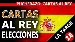 CARTAS AL REY - ELECCIONES - LA TARDE 2.0 - PUCHERAZO - ENTREVISTA JAVIER GARCÍA ISAC - DCID - ACTAS