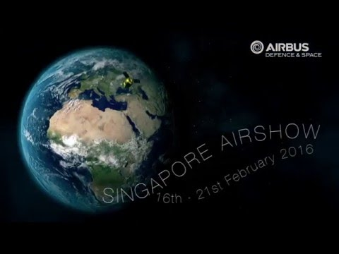 Join Airbus Defence and Space at Singapore Airshow!
