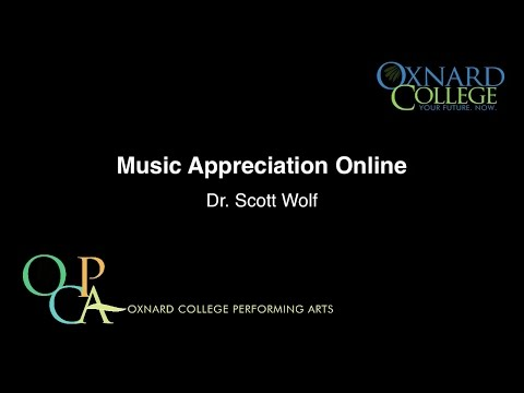Oxnard College - Music Appreciation Online: Dynamics