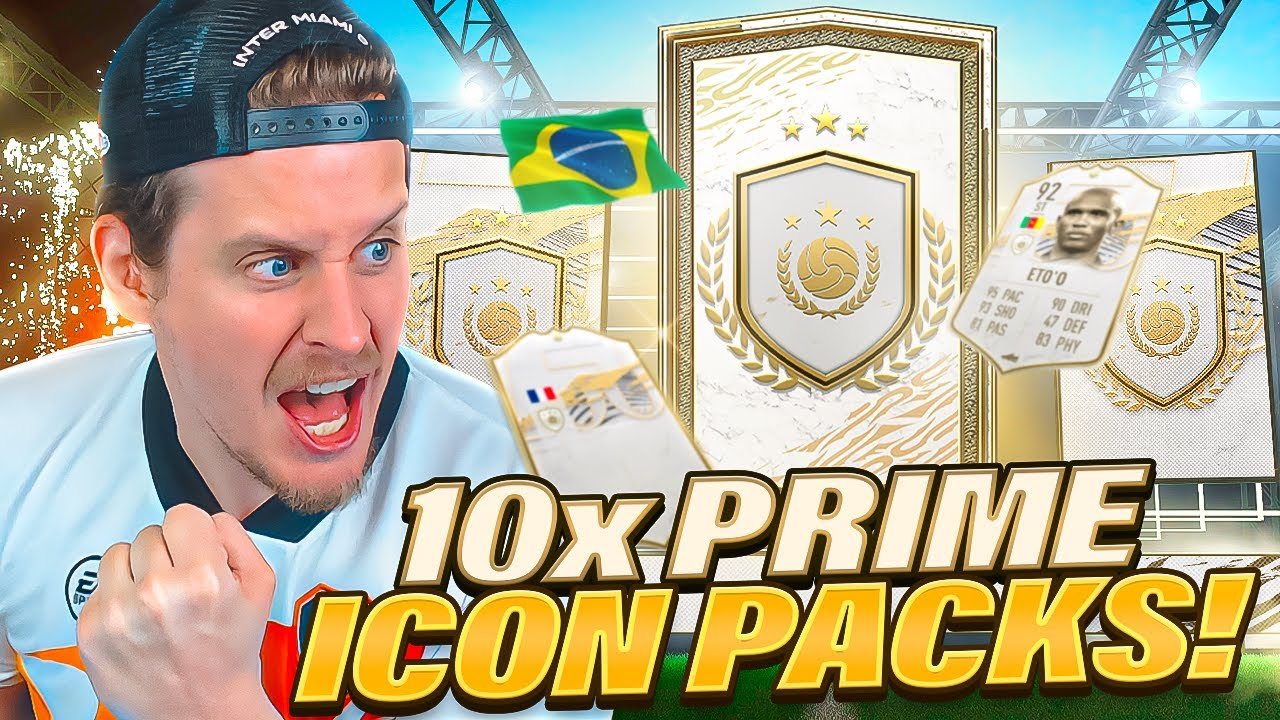 Download WHAT ARE THESE?! 10X GUARANTEED PRIME ICON PACKS! FIFA 21 Ultimate Team