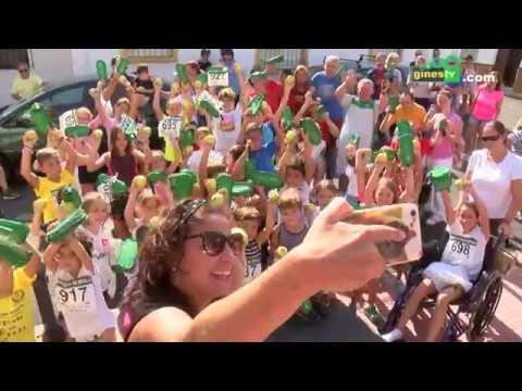 Deporte y diversión en la quinta edición de la Carrera Popular Infantil 'San Ginés'