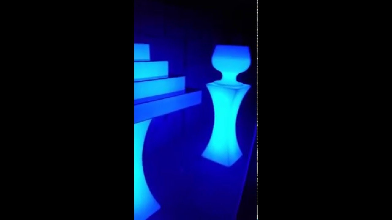 Glow Furniture Buy Or Rent Led Glow Furniture Illuminated Light Up Furniture