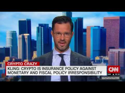 Travis Kling On CNN - Bitcoin As A Hedge & Insurance Policy More Scarce Than Gold - Sept 15 2019