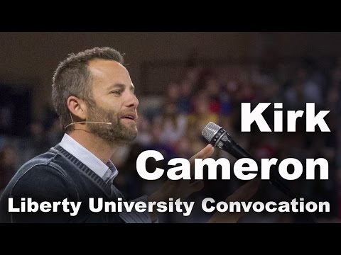 Kirk Cameron  Liberty University Convocation