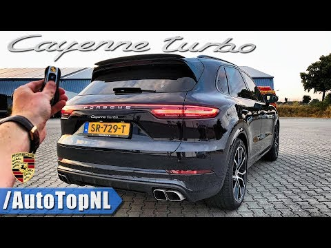2019 PORSCHE CAYENNE TURBO Review 300km/h+ POV on AUTOBAHN & ROAD by AutoTopNL