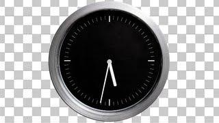 Time Lapse Clock - 2 Modern Clocks - Alpha Loop