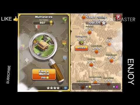 How To Win Watchtower, Fool's Gold, Thoroughfare And Bouncy Castle TH6 And + (4 In 1 Goblin Map COC)