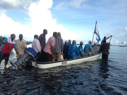 Ziara ya Maalim Seif Kisiwani Tumbatu Unguja 1/4/2017