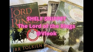 Shelf snippets - The Lord of the Rings