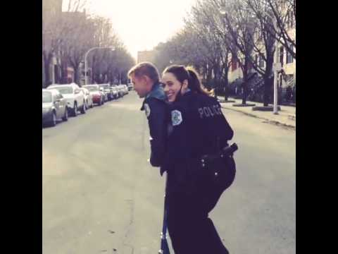 Marina Squerciati There's nowhere to hide, danger. ChicagoPD