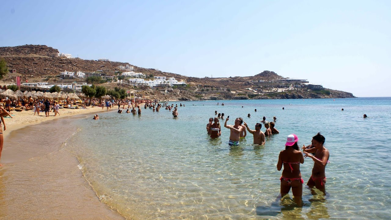 Paradise Beach Mykonos Music Vibe Youtube