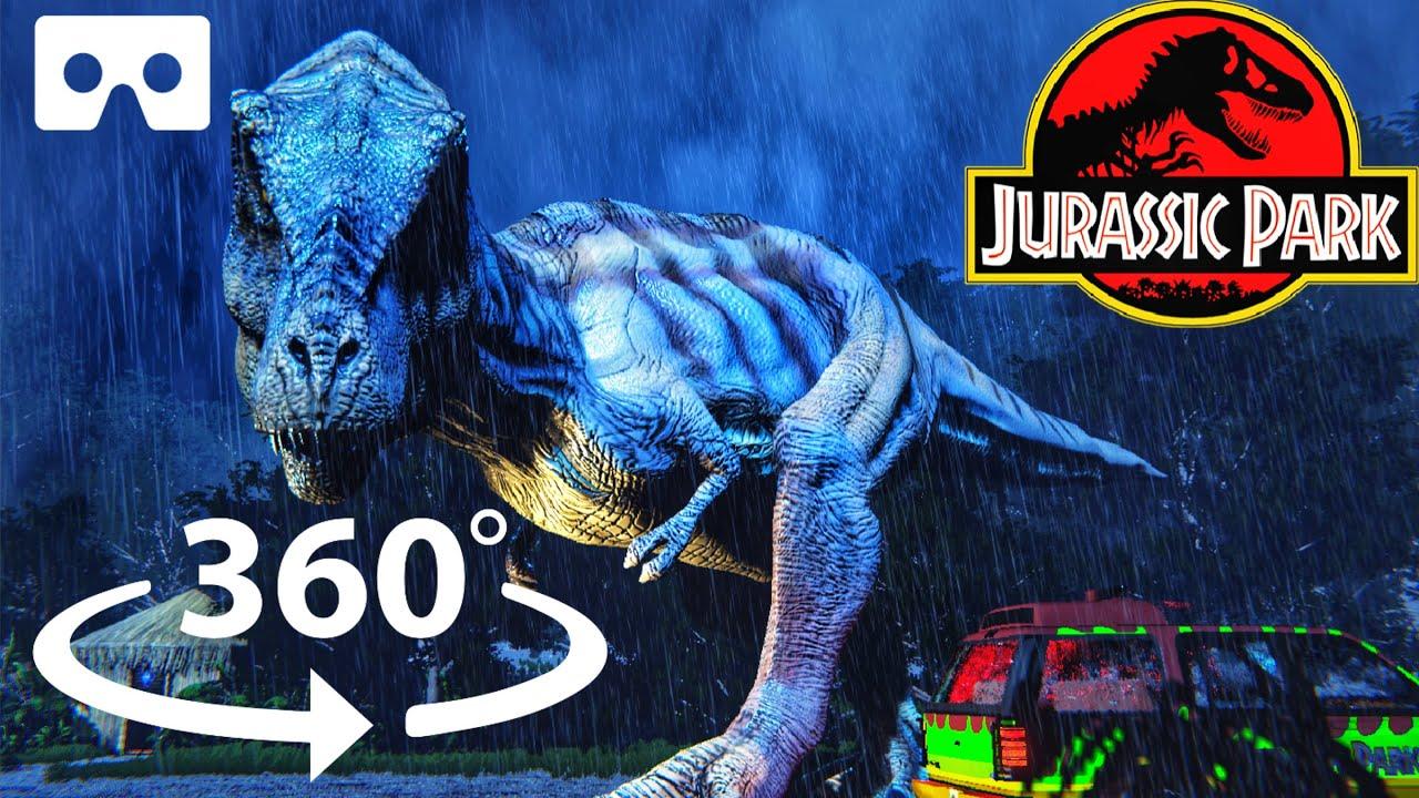 360° T-Rex Breakout! Can You Escape Jurassic Park T-Rex in VR?