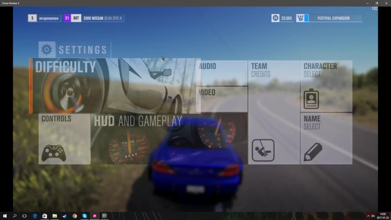 6510c29dc9e My settings - logitech G27 wheel forza horizon 3 - YouTube