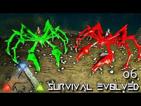 ARK: ABERRATION MODDED - NEW EASY KARKINOS TAMING METHOD !!! E06 ( GAMEPLAY ARK: SURVIVAL EVOLVED )