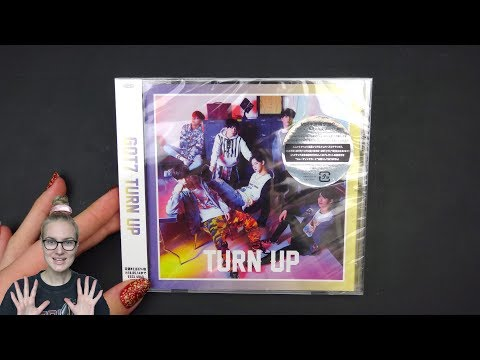 Unboxing GOT7 2nd Japanese Mini Album TURN UP [Limited TYPE C (Jinyoung & Youngjae) Edition]